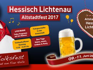 Altstadtfest Hessisch Lichtenau 2017