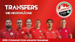 Der FC Domstadt Fritzlar freut sich über starke Neuzugänge