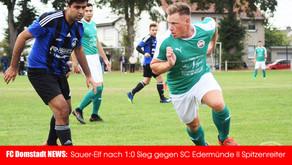 FC Domstadt Fritzlar bezwingt Edermünde II