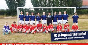 D-Jugend absolvierte Testspiel gegen Mädels B-Jugend von Großenenglis