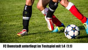 Im Testspiel gegen die SG Neuental/Jesberg unterliegt der FC Domstadt Fritzlar mit 1:4