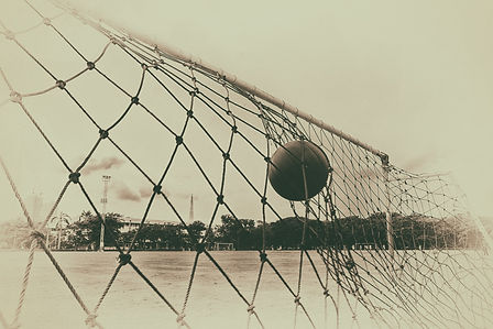 pictures of the past  soccer ball in the