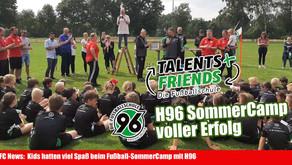 Rückblick vom Fußballferiencamp mit der 96 Fußballschule von Hannover