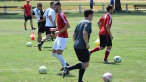 Spieler und Fans schwitzten bei Auftakttraining des FC Domstadt Fritzlar