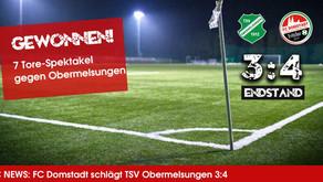 Sieg nach  7-Tore-Spektakel gegen TSV Obermelsungen