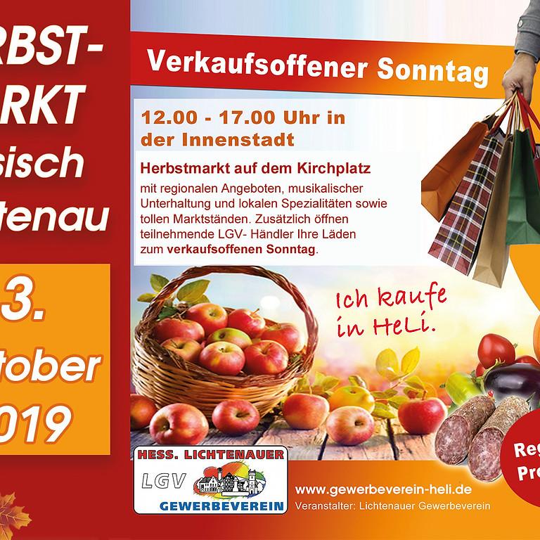 Herbstmarkt Hessisch Lichtenau