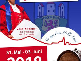 Wir sind offizieller Partner des Altstadtfest Hessisch Lichtenau 2018