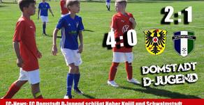 D-Jugend  nicht zu bremsen! Siege gegen Hoher Knüll und Schwalmstadt