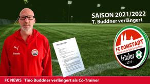 Co-Trainer Buddner verlängert beim FC Domstadt Fritzlar