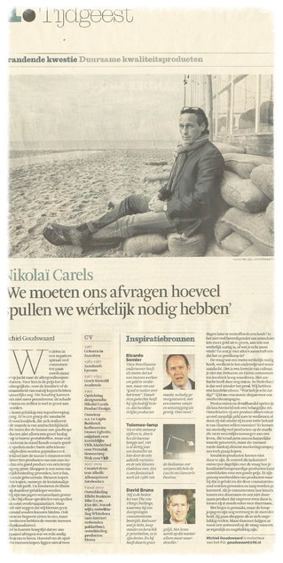 Interview in het Financiel Dagblad: Brandende kwesties
