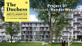 KondorWessels start samenwerking met Parcer in bouwproject 'The Duchess'