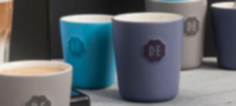 Simpele koffie mokken in leuke kleurtjes