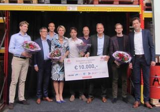 Parcer gekozen tot beste Logistieke Startup Brabant 2016