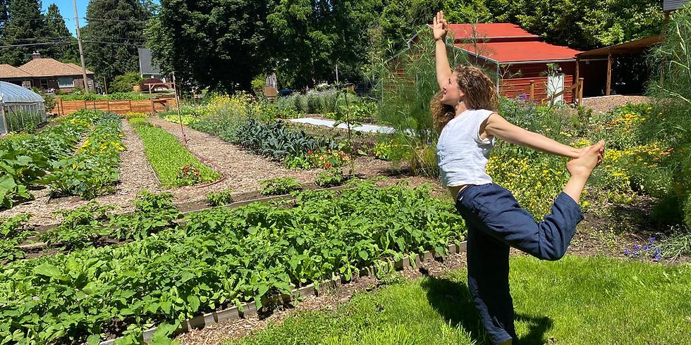 Yoga At The Farm with Zeyah