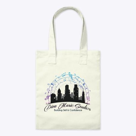 Diva Music Studios Tote Bag