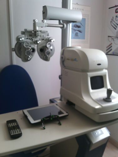 salle examen de vue
