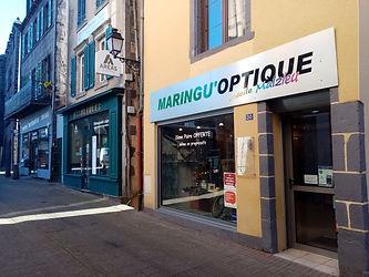 Magasin d'optique situé à Maringues , proche de Clermont ferrand