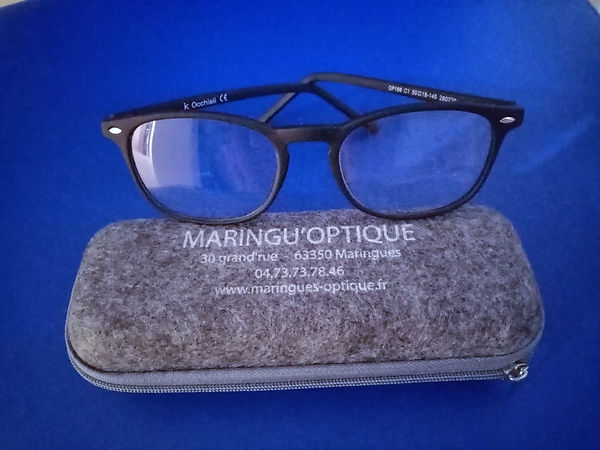 lunette anti reflet lumière bleue pour soulager vision devant ordinateur