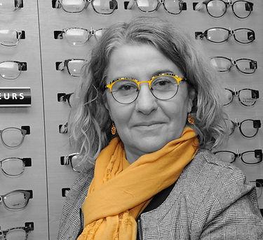Cécile Malzieu , opticienne