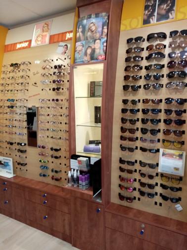 presentoir lunettes