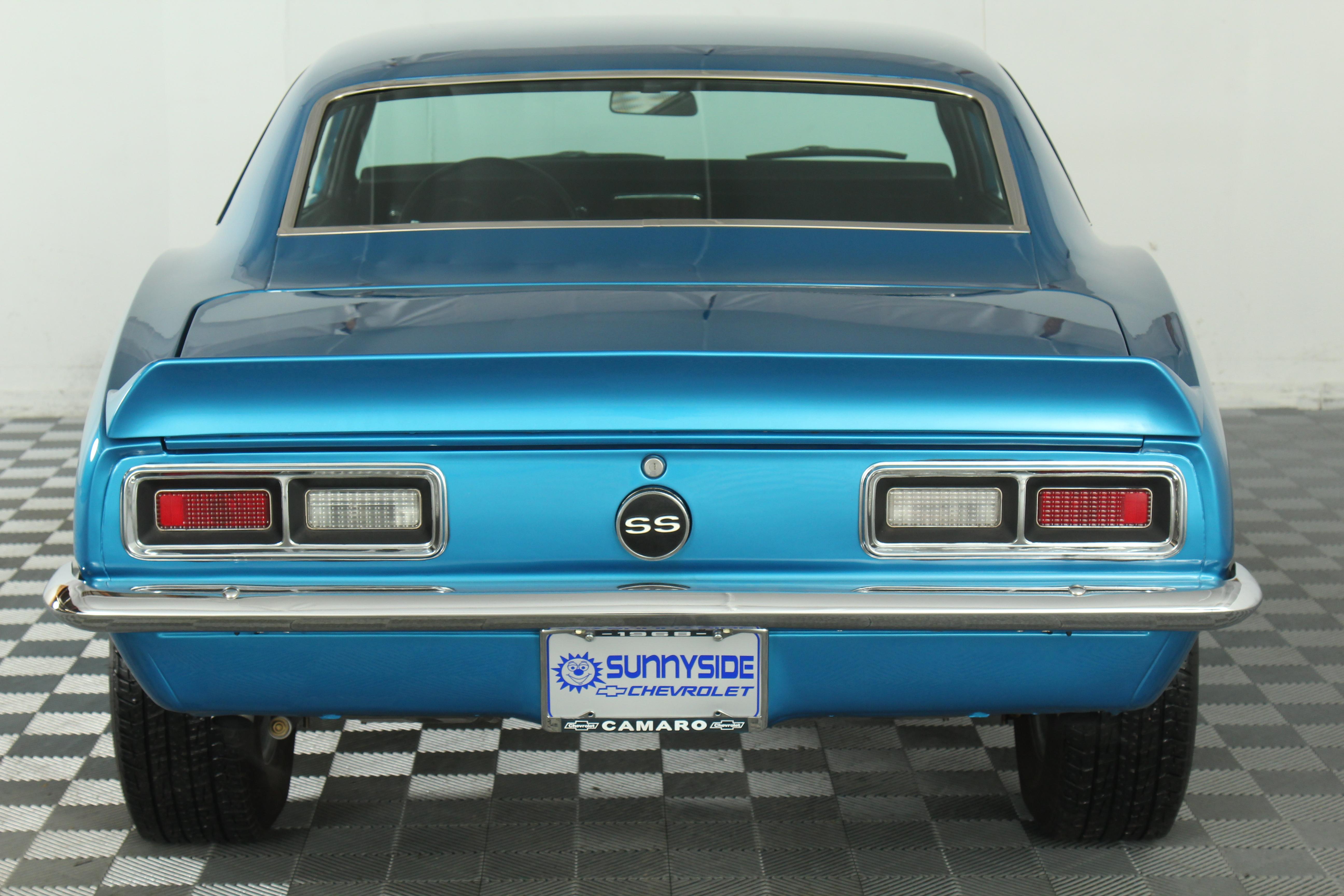 1968 Chevrolet Camaro Elyriaohio Sale Blue