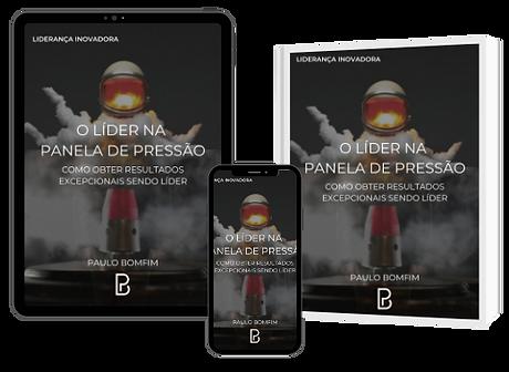 """Baixe gratuitamente o E-Book """"O Líder na Panela de Pressão"""", de Paulo Bomfim"""
