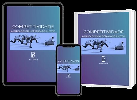 """E-Book """"Competitividade, a marca de uma Liderança de Sucesso"""", de Paulo Bomfim"""