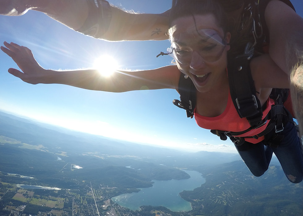 Tandem Skydiving | Skydive Whitefish | Montana