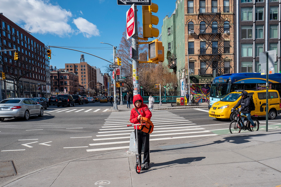 Little Red Riding Hood, NYC