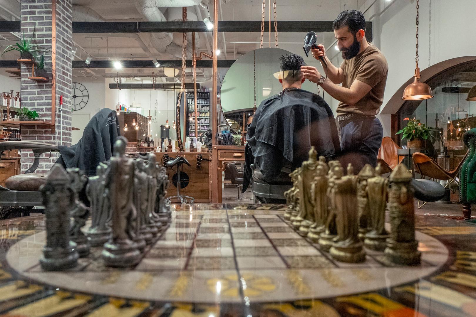 Barber shop in Uppsala