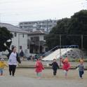 新検見川保育園かけっこ