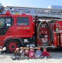 新検見川保育園消防車