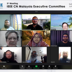 3rd Meeting of IEEE Malaysia Consultant Network Executive Committee