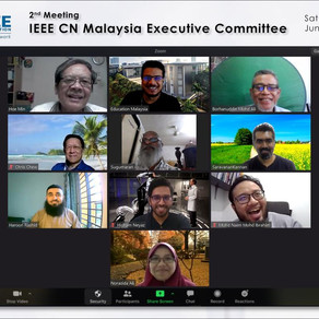 2nd Meeting of IEEE Malaysia Consultant Network Executive Committee