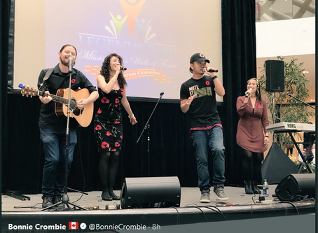 From Far & Wide performs for Mississauga Legends Row