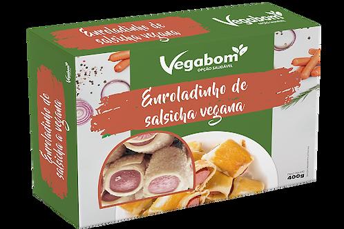 Enroladinho de Salsicha Vegana - Vegabom