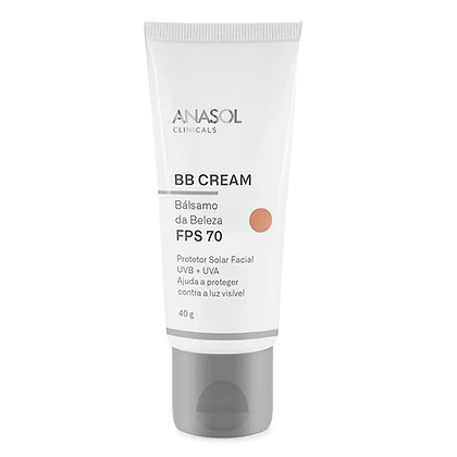 Protetor Solar BB Cream Facial FPS 70 Anasol