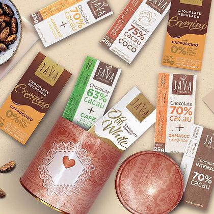 Barras de Chocolate Java
