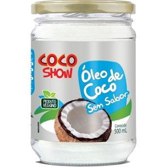 Óleo de Coco Sem Sabor Coco Show