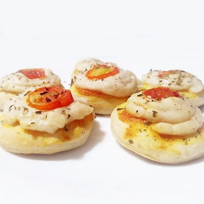 Mini Pizza Panela Vegana