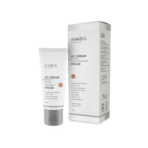 CC Cream Facial FPS 80 - Anasol