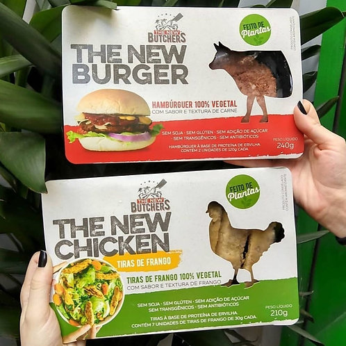Hambúrguer The New Burguer - The New Butchers