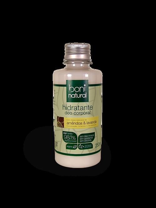 Hidratante Amêndoa e Lavanda - Boni Natural