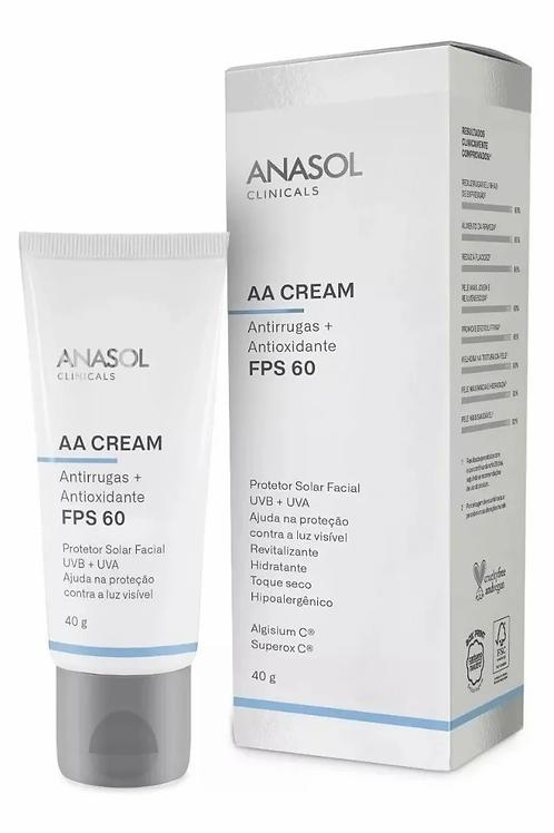 AA Cream Facial FPS 60 - Anasol
