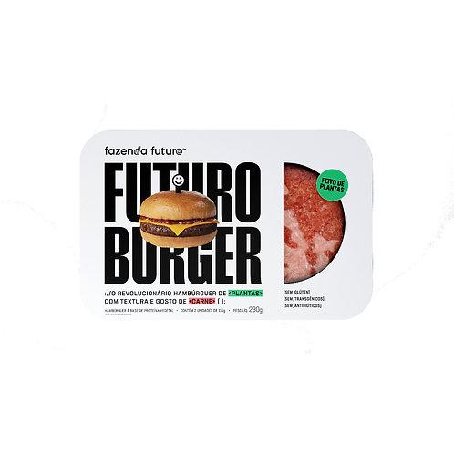 Hambúrguer de Carne Vegetal 2.0 - Fazenda do Futuro