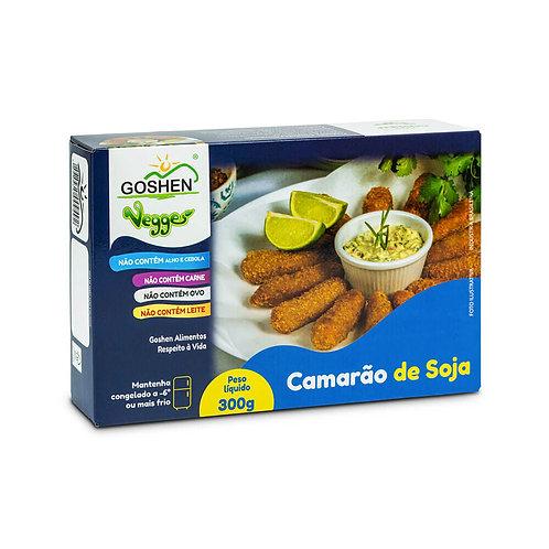 Camarão de Soja Vegano - Goshen