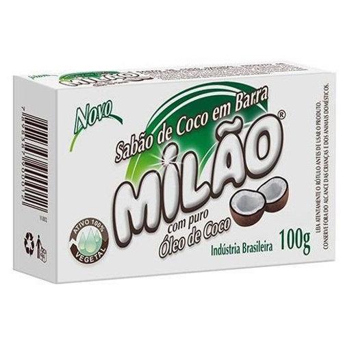 Sabão de Coco em Barra - Milão