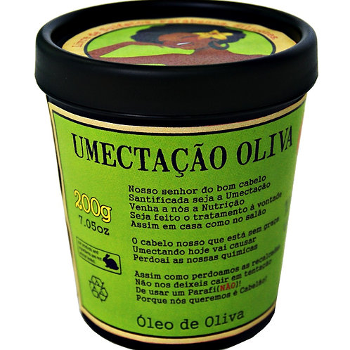 Máscara de Umectação Oliva - Lola Cosmetics
