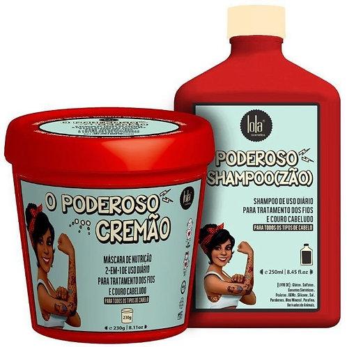 Kit Capilar Poderoso - Lola Cosmetics