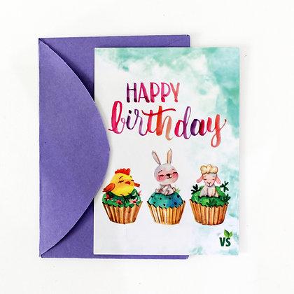 Cartão de Presente - Aniversário